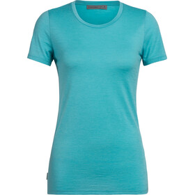 Icebreaker Tech Lite SS Low Crewe Top Women lagoon